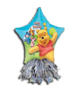 Centrotavola mylar Compleanno mod. Winnie the Pooh