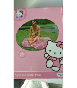 Piscina Hello Kitty sand and water 90x60cm