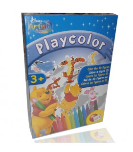 Play Color Winnie the Pooh, colora le figure 3D. Con pennarelli.
