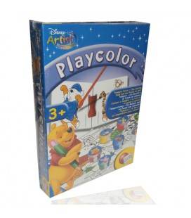 Play Color Winnie the Pooh, colora le figure 3D. Con pittura a tempera.