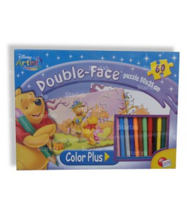 Puzzle da colorare mod. Winnie the Pooh Double Face