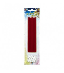 Candele col. ROSSO