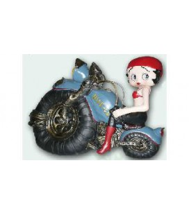 Statuetta BettyBoop in Moto Dimensioni 40x28 cm