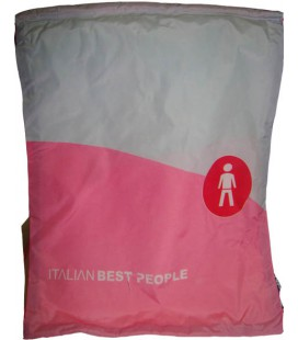 Sacca ITALIAN BEST PEOPLE colore PINK