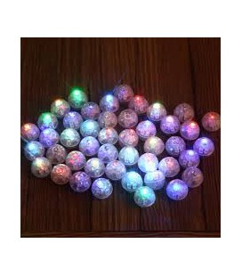 Mini Luce a led multicolor per palloncini conf. 25 pz