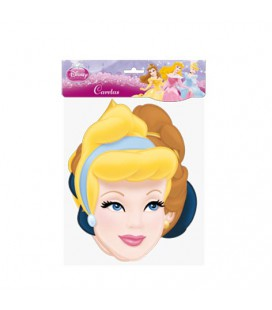 Maschere Party Principesse Disney in carta conf da 6 pz
