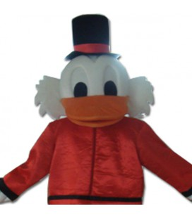 Mascotte Hold Duck indossabile linea standard