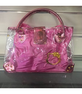 Borsa Shopping Hello Kitty colore ROSA