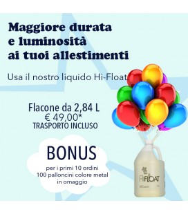 Ultra hi-float flacone da 2,84 lt