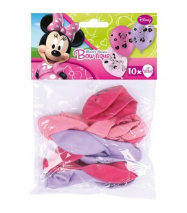 Palloncini lattice Minnie 10 pz
