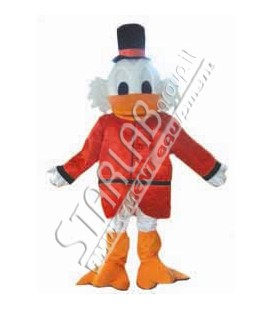 Mascotte Old duck indossabile