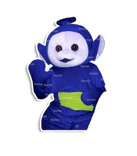 Mascotte Tele TV blu indossabile